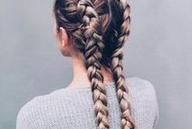 Hairstyles. / I just love to play with my hair in my free time. Do it yourself and enjoy it!