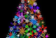Christmas stuff / Dekorasjoner og mønstre med julemotiver