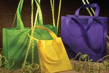 Bags-Feel of Fabric / Eco-Friendly Reusable Non-Woven Tote Bags. Colorful and Durable.