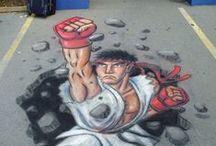 Street Art / Street art, installation, grafitti