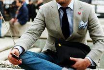 Elegant Gentleman's style / Because men love fashion too