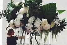 Flower power / Flowers, plumes, foliage delights for inspiration.
