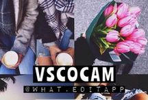 VSCOCAM / Efeitos do app VSCO CAM