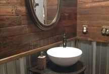 Trend Alert : Rustic Wood / Organic textures and rustic charm bring a unique style to any space. Find the perfect rustic wood accents here
