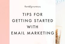 Email marketing / Email marketing, list building to generate business growth, tips, ideas. For entrepreneurs, girl bosses, creatives and hustlers
