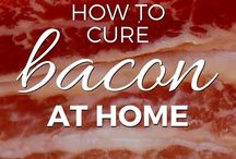 How to Cure bacon / Meat .....at home...