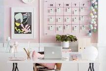 Office / Escritório / #Escritório #Office #HomeOffice #Decoration #Decoração
