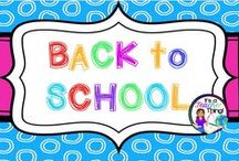 Back to School Ideas / Great ideas to use during the first month of school.