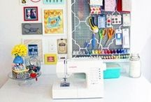 Sewing & craft room