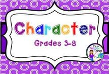 Character / To support the study of character development in reading and writing.