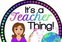 It's a Teacher Thing Store on TPT / Products made to simplify your life.  Created by a veteran teacher.