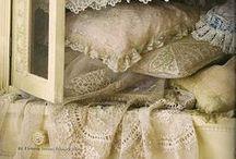 Antique Linens, Textiles, Lace / by B Mac