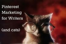 Writer Marketing and Blogging / As a writer looking into both publishing with a literary house and self-publishing, I pin these for future use