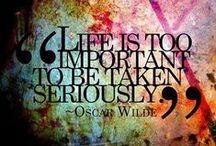 The Brillian Mr Oscar Wilde / An artist, an inspiration, a mad man - someone after my own heart