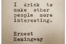 The Epic Ernest Hemingway / Hemingway was a legend, but still very human. I admire him a lot!