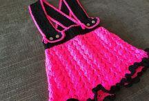 BiBa - mekot - dresses / Crochet knitting patterns, dress