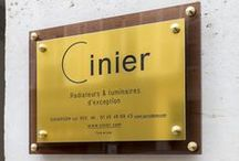 Cinier latest design showrooms / Enjoy the displaying of our products at some of the most famous showrooms in the World