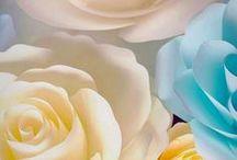 Panouri cu flori