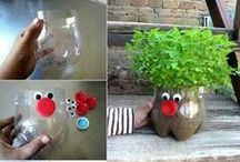 Reuse, Repurpose, Recycle! / Great stuff for your childcare or classroom!