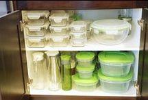 Organize Kitchenware and Kitchen Cabinets