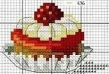 cross stitch DELICIEUX / EYE CANDY - NO CALORIES