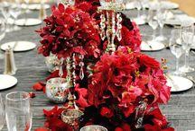Mesas vestidas / Detalles exclusivos de mesas para recibir.
