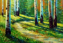 ART - Landscapes / Woodlands, rivers, mountains, the sea