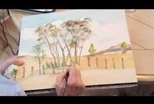 ART - Utube Demos / Lots of help and ideas to help you along painting watercolour painting!