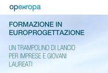 Open Europa / Open Europa, incubatore di iniziative formative ed informative in materia di finanziamenti europei.