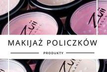 Makijaż policzków z Zuii / Płatki kwiatów na Twojej twarzy... To kosmetyki naturalne do makijażu Zuii Organic