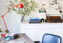 Innovative work spaces / If you work from home or work as a freelancer, these design tips and ideas will help to inspire you to create a productive and creative working environment.