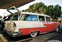 1950s Chevrolet / Sedans / by John Fran