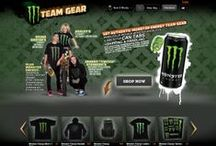 Monster Energy Gear store / This web project for #Monster Energy is a ground-up developed #e-commerce platform with full country-based #content and store management, configurable order, shipping and pricing modules and a two-way #API for data synchronization with the #logistics #ERP