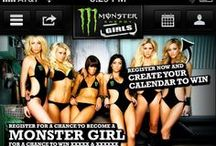 Monster Energy Girls / The #Monster Energy Girls #competition takes place in several regions of the globe. This #website allows users from anywhere in the world to get information, create a profile as an applicant and take part in the voting process of their region