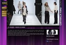 Catwalk Magazine / #Branding and #media #website for the #Catwalk Mag fashion online #magazine