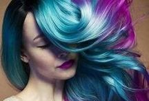 One day, my hair will look like this. / Ideas for future hair colors and styles.
