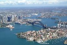 Sydney / Photos of Sydney from the air. Taken during a navigation exercise 5 March 2014.