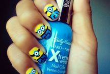 Colorful Nails on Her Fingertips / Love these nail designs. Can't wait to try them.