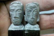 sculpture / face sculpture