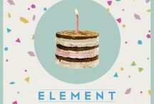 The ELEMENT Of Celebrations / ELEMENT present during the holiday season and especial events  / by ELEMENT Snacks