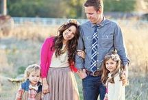 Fams with Kiddos / Photo inspiration for family sessions with small children.