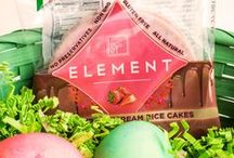 Holiday Treats / From Easter to Christmas, the holidays don't always have to pack on the pounds! We've got some adorable holiday dessert and snack ideas featuring Element.  / by ELEMENT Snacks
