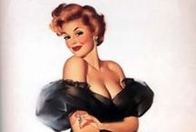 Vintage Pin-Ups & Illustration