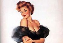 Vintage Pin-Ups & Illustration