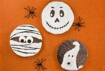 Creepy Crafts for Halloween! / Helpful hints to make your halloween snack table healthy and horrifying!