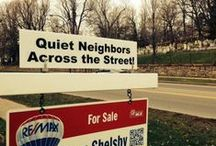 Realty Signs / Interesting Signs Encountered In Real Estate