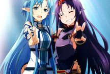 SAO / Yes I ship Yuuki x Asuna. And Kirito x Asuna. Problem? (◡‿◡✿)