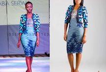 AFRICAN FASHION / Moda y estampados africanos. Estallido de color.