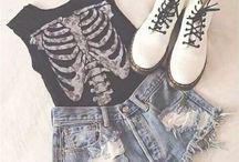 Dream wardrobe / Mostly grunge and punk-ish idk