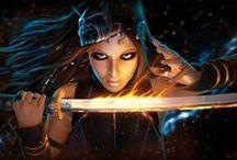 The Art of LeAndra Dawn / LeAndra Dawn's Art Portfolio http://www.leandradawn.com